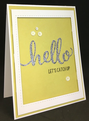 Hello Friend - Stamp Set